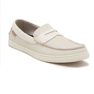 NWT ColeHaan Nantucket Pumice Stone leather loafer